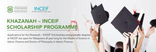 Khazanah-INCEIF Scholarship Programme 2017